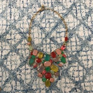 Kate Spade 'gumdrop gems' Mixed Stone Bib Necklace